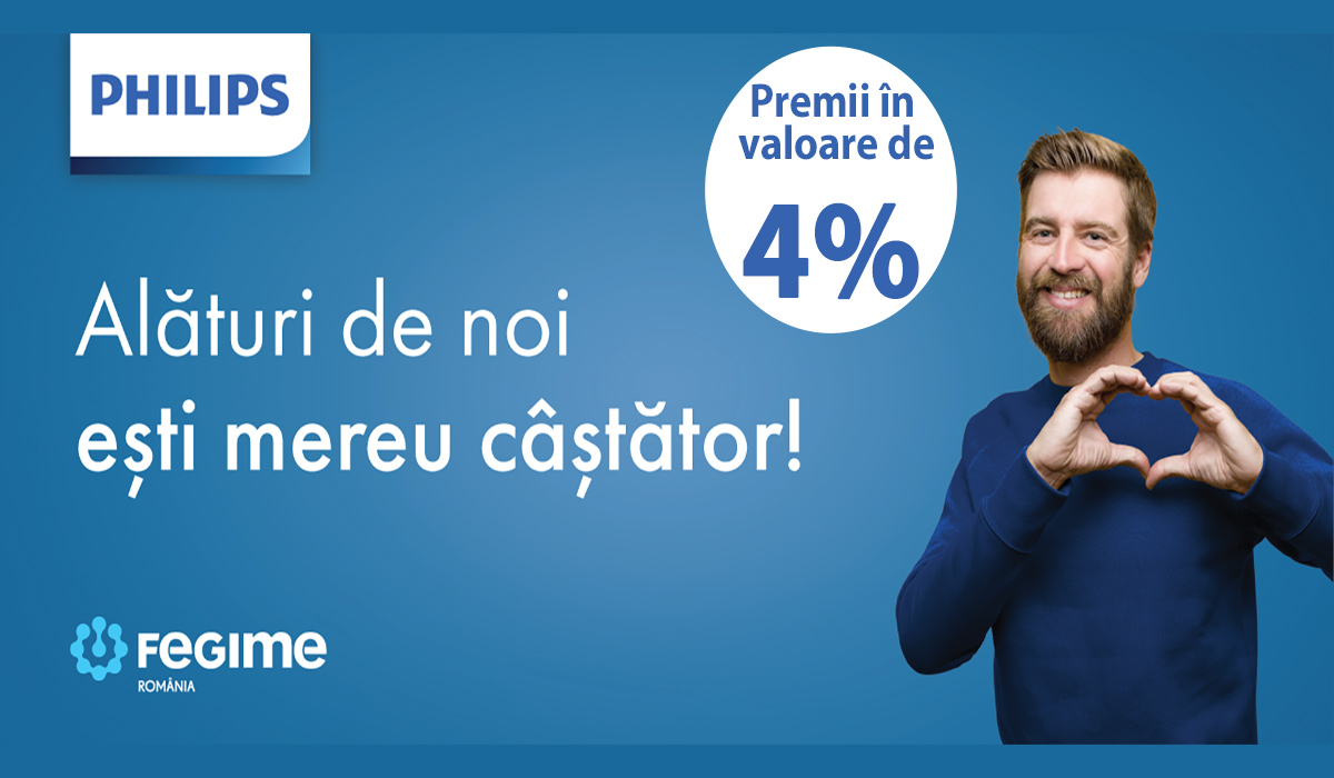 Promotie Fegime Philips Home Page