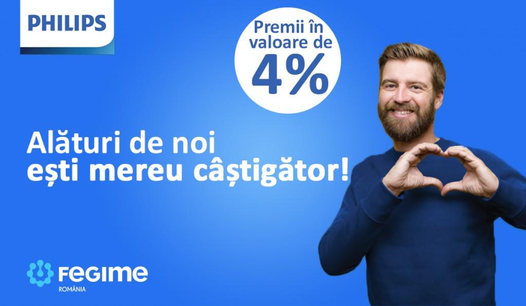 Campanie Philips si Fegime