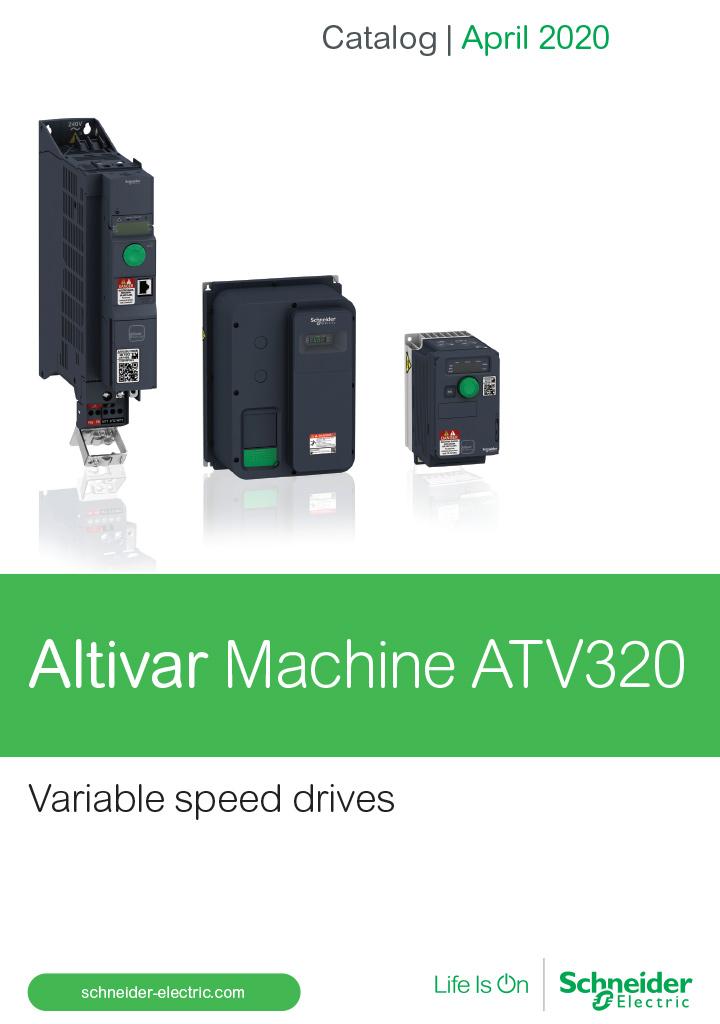 Catalog Schneider Altivar MAchine atv320