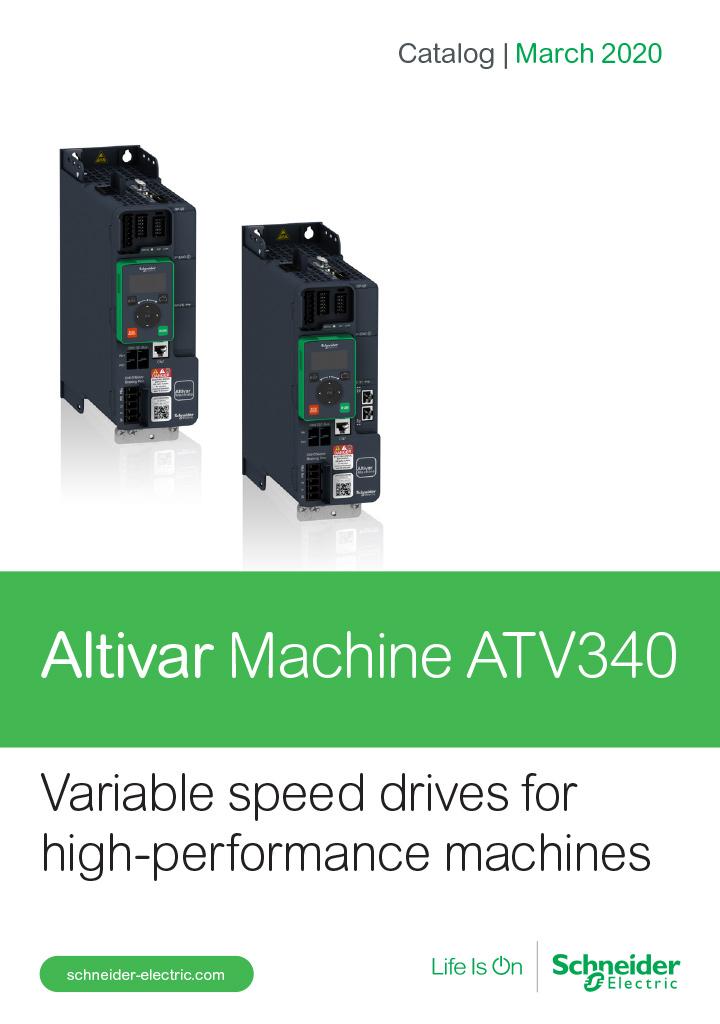 Catalog Schneider Altivar MAchine atv340