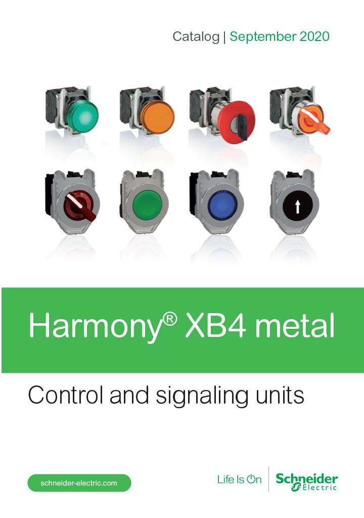 Catalog Schneider Harmony XB4