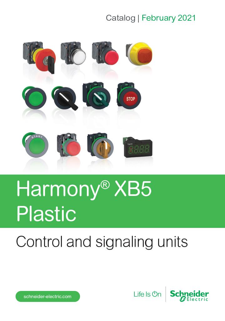 Catalog Schneider Harmony xb5